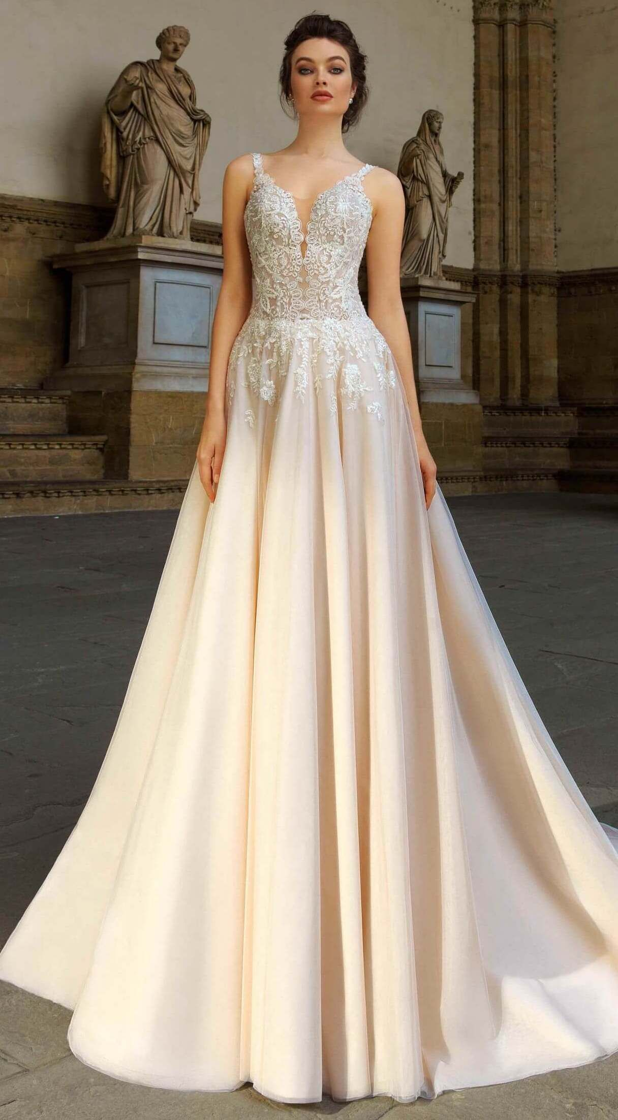 Ball gown wedding dress by innocentia princess ivory