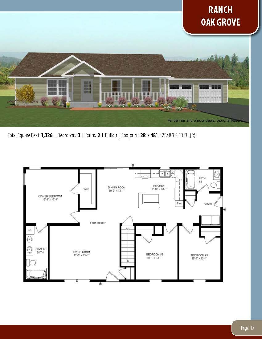 To Learn About Building Your New Home With All American Homes Visit Our Website At Www Allamericanhomes In 2020 Small House Floor Plans Floor Plans House Floor Plans