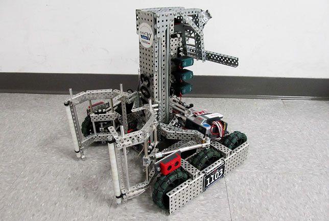 Vex Robot Designs Vex Round Up Champion Team 1103 Compound Chain
