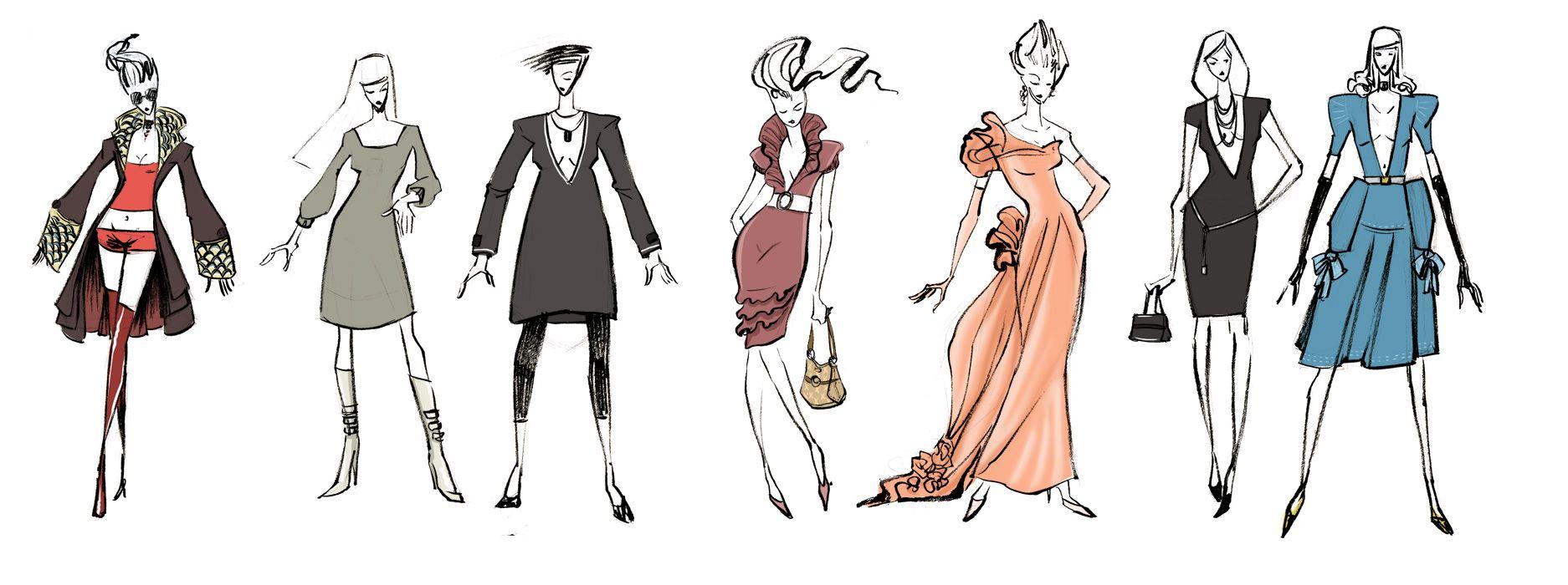 fashion design ideas 10 images about fashion illustration on pinterest top fashion - Fashion Design Ideas