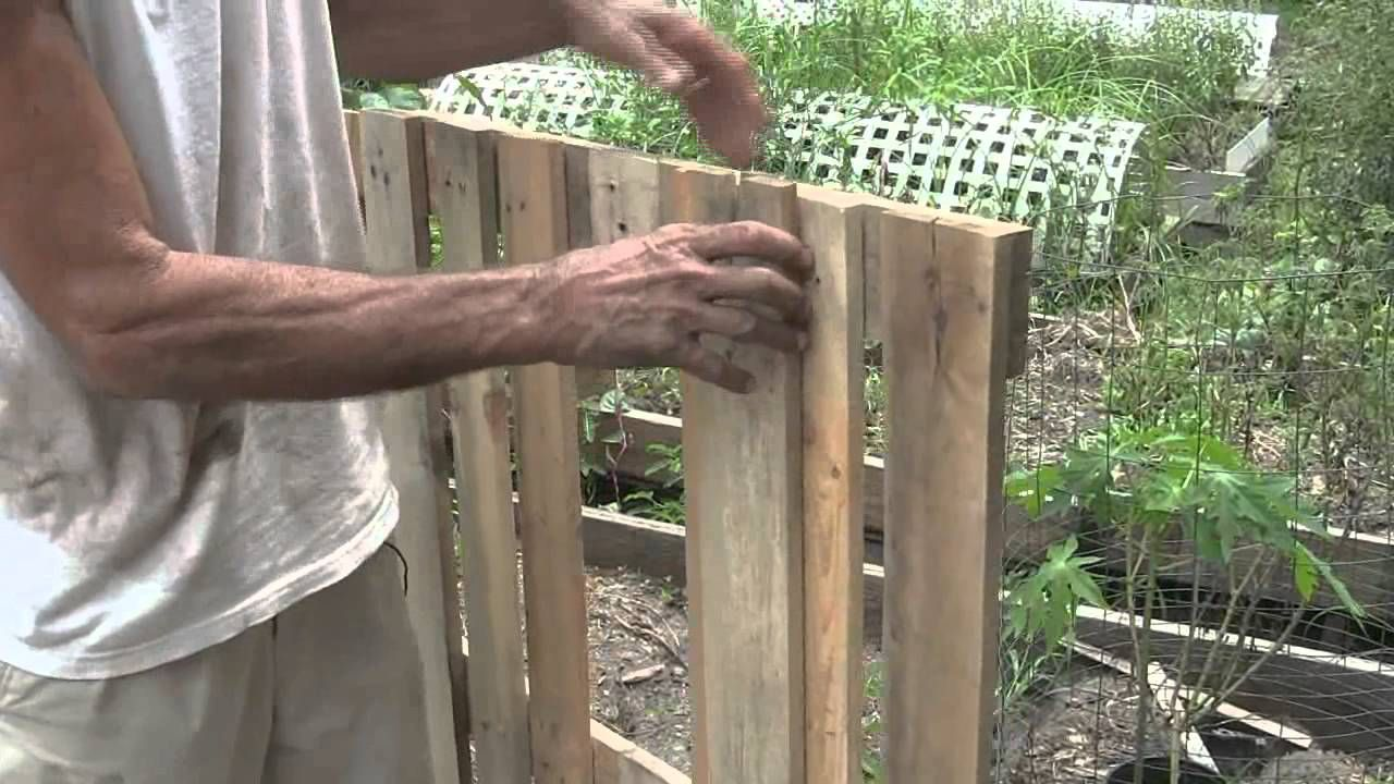 how to construct a lifted bed garden applying pallets - Garden Ideas Using Wooden Pallets