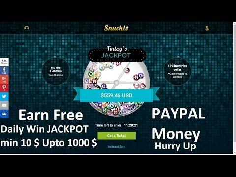 snuckls make money online free minimum earn 10 upto 1000