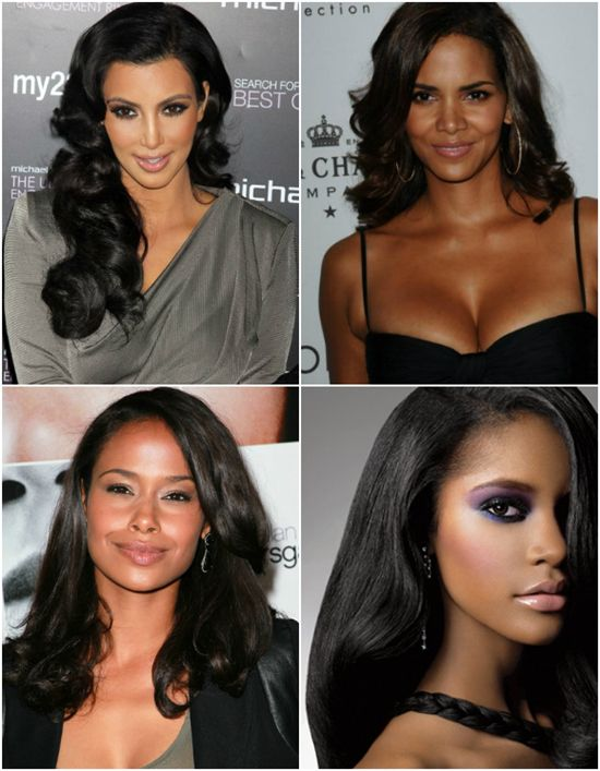 Chic Winter Hairstyles For Black Women With Black Hair Extensions