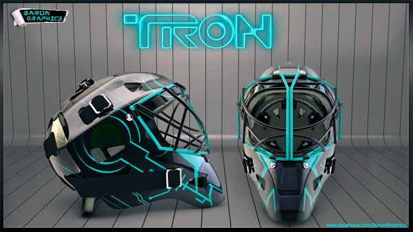 Best Mask Ever Hockey Tron Hockey Helmet Hockey Mask Goalie Mask