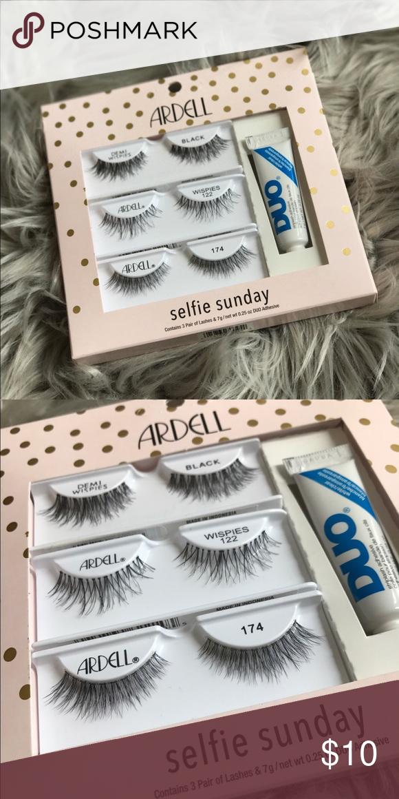 e8f2483394d Ardell Selfie Sunday Lash Kit Brand new Ardell Selfie Sunday Lash Kit with  adhesive Includes:
