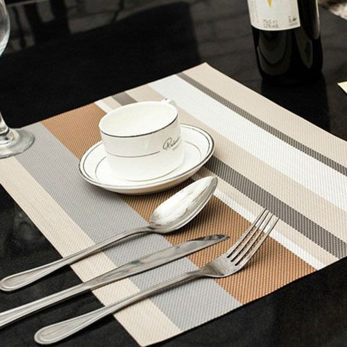 Waterproof Placemats Kitchen Dining Table Eco Friendly Kitchen Dining Table In Kitchen Placemats