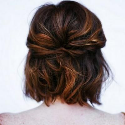 Peinados faciles para media melena lisa