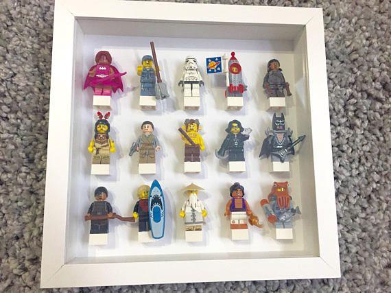Lego Minifigure Display Case Lego Minifig Lego Star Wars Lego