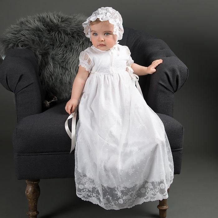 Melissa Sheer Bonnet   Christening gowns