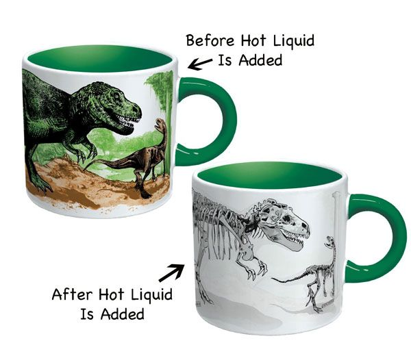 The Coolest HeatSensitive Coffee Mugs Coffee Change colour and