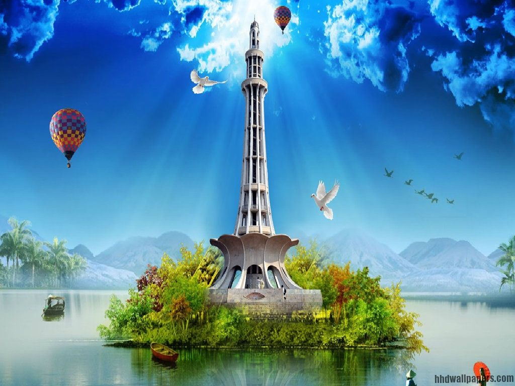 23 March Pakistan Day Creative Wallpaper 23 march