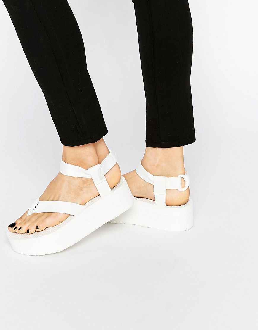 6313773f6db13 Teva+Bright+White+Flatform+Universal+Sandals
