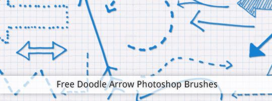 Free doodle arrows photoshop brush freebies pinterest free doodle arrows photoshop brush clementine creative ccuart Image collections