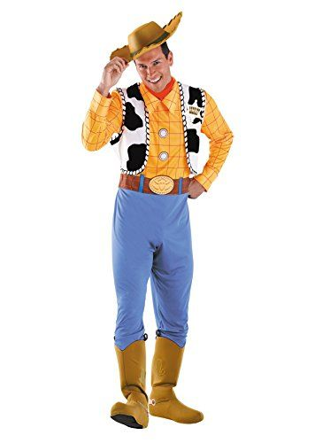Toy Story  Woody Cosplay Costume Cowboy Mascot Halloween Party Men Outfit