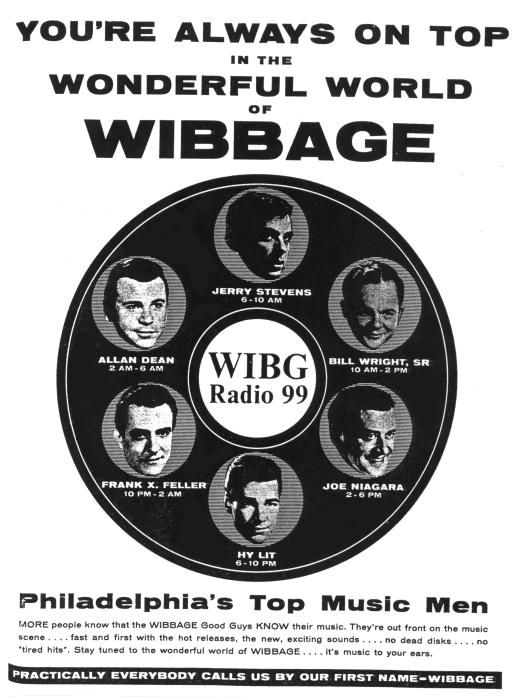 Today In Radio History Listen To The Legendary Wibg S