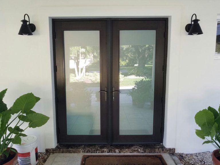 Hurricane Proof Exterior Doorsmiami Impact Windows Hurricane Shutters Custom Door Installation French Doors Exterior Glass Front Door French Front Doors