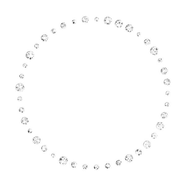 jss_bellagrace_bling circle.png ❤ liked on Polyvore featuring circles