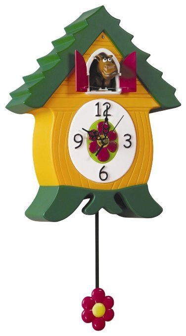 Amazon Com Whinnycoo Clock Cuckoo Clocks Cuckoo Clock Clock For Kids Clock