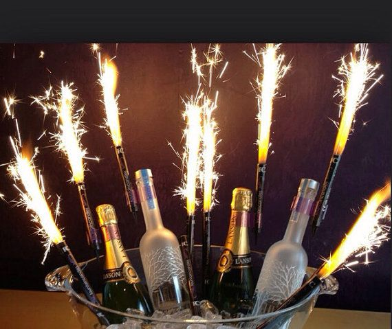Big Birthday Candles Bottle Sparklers 240 By MaylinsCollection 11000