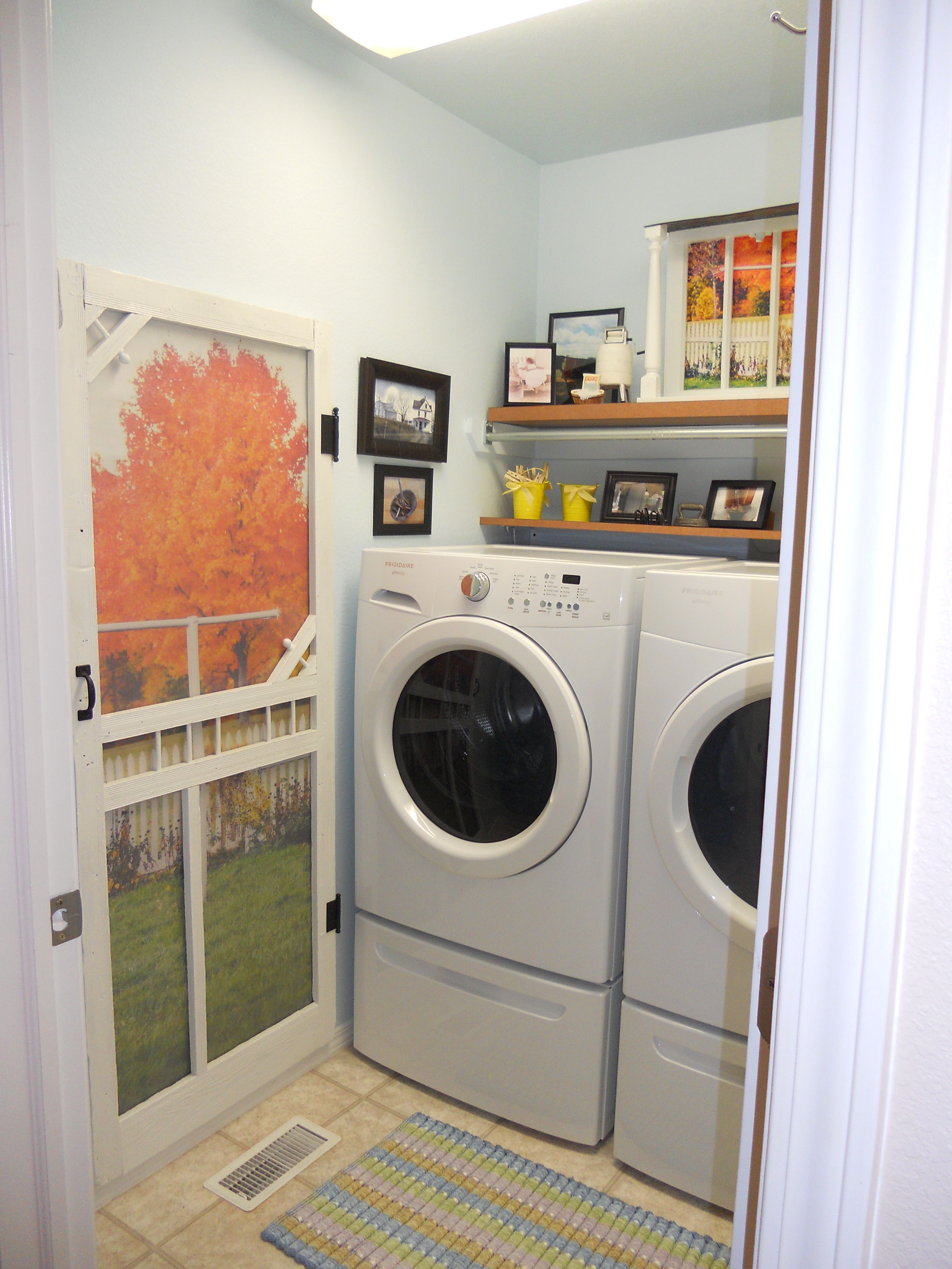 The Washer And Dryer Just Fits Into This Room I