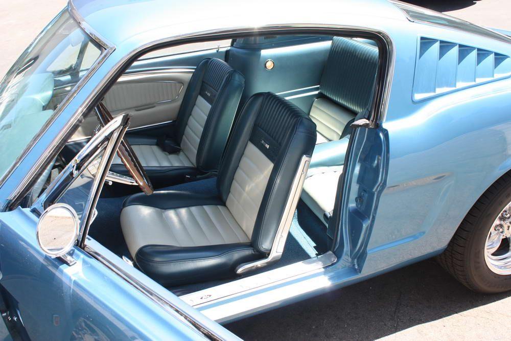 1966 Mustang Factory Gt Fastback Mustang Interior 1965 Mustang Vintage Mustang
