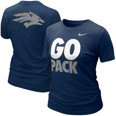 san francisco 031e7 2b1da Nevada Wolf Pack Ladies T-Shirt   NCAA   Shirts, T shirts ...