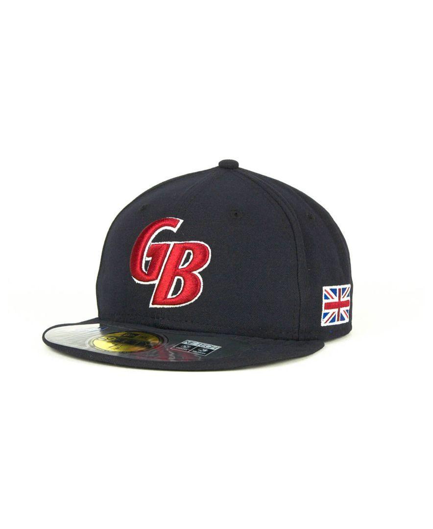 df21f26e0936d ... clearance new era great britain 2013 world baseball classic 59fifty cap  d248d c12ea