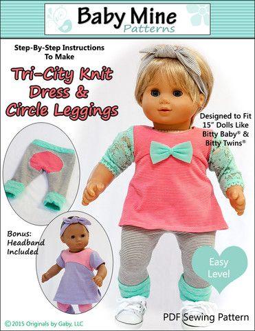 Tri-City Knit Dress & Circle Leggings 15\