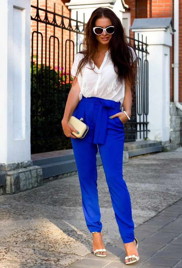 bbd213e901a7 Top 20 Stylish Navy Blue Outfis Ideas For Summer Season