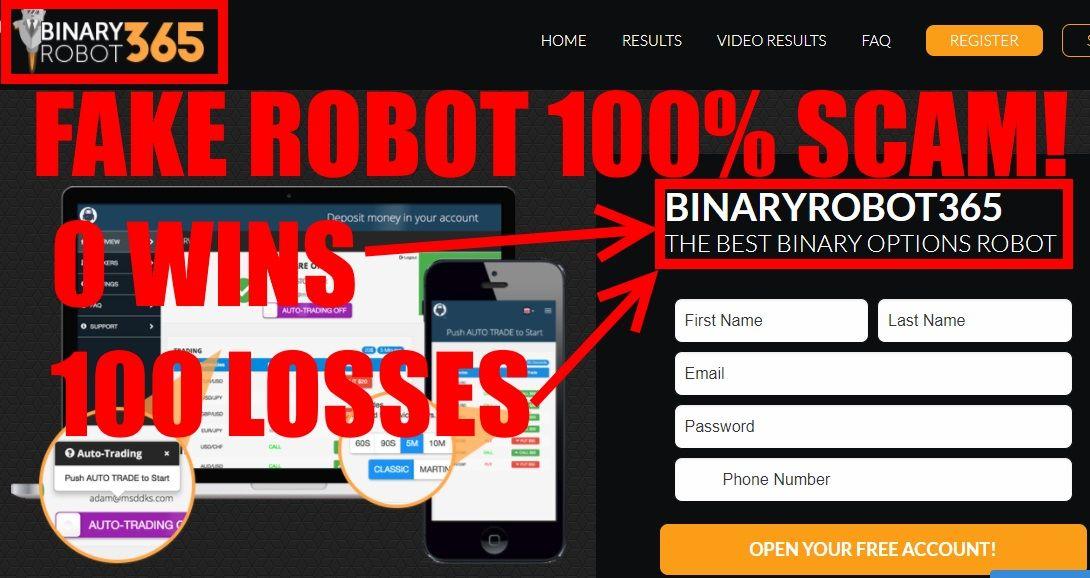 OptionRobot Unbiased Review – Binary Options
