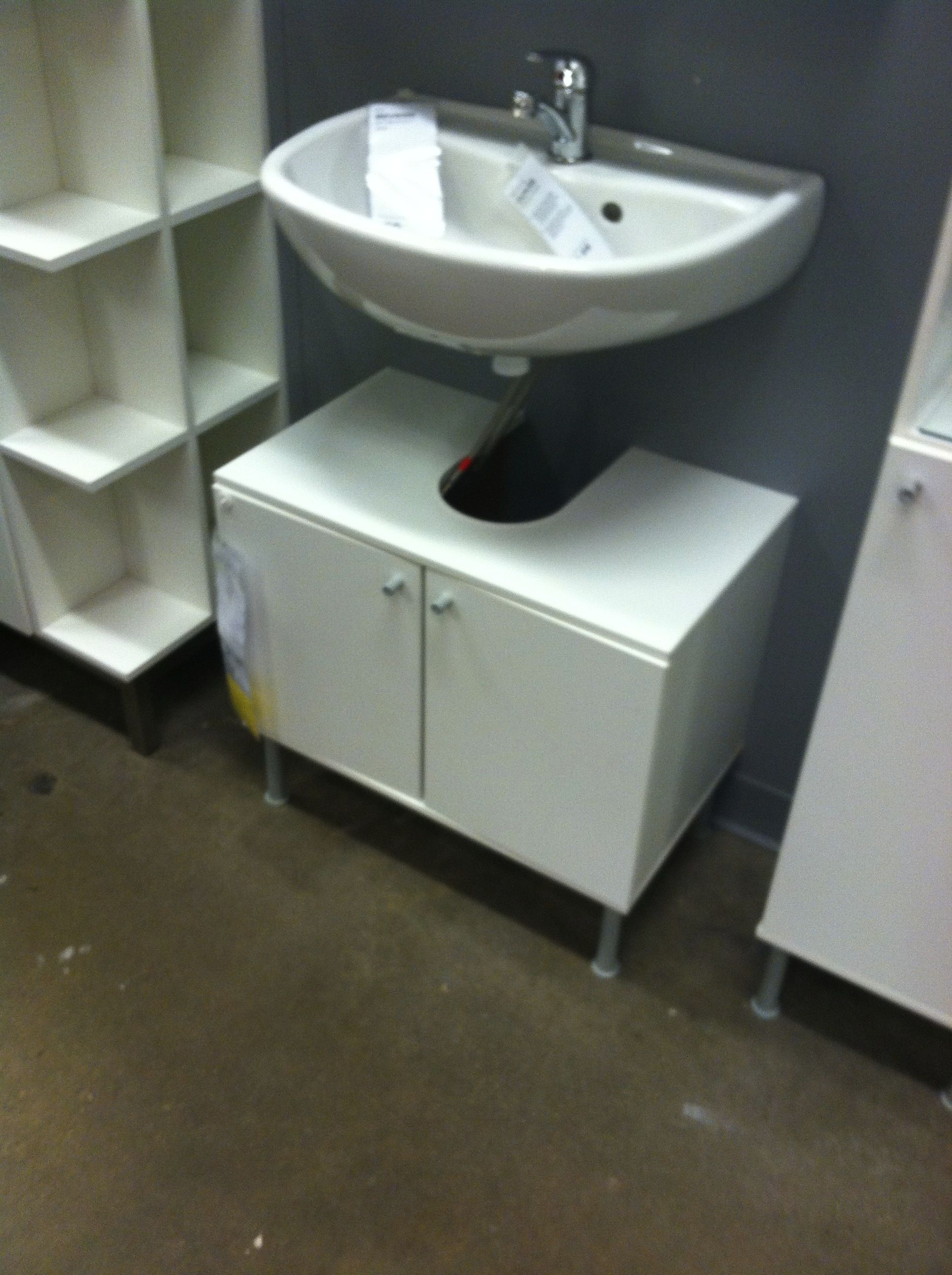 Hide Pipes Under Open Bathroom Sink Ikea Open Bathroom Hide