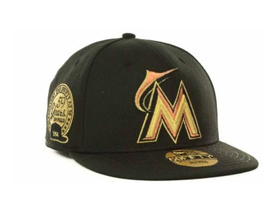 save off 662f1 a4b0d NEW ERA x MLB「Miami Marlins 59Fifty 59th Anniversary」59Fifty Fitted  Baseball Cap
