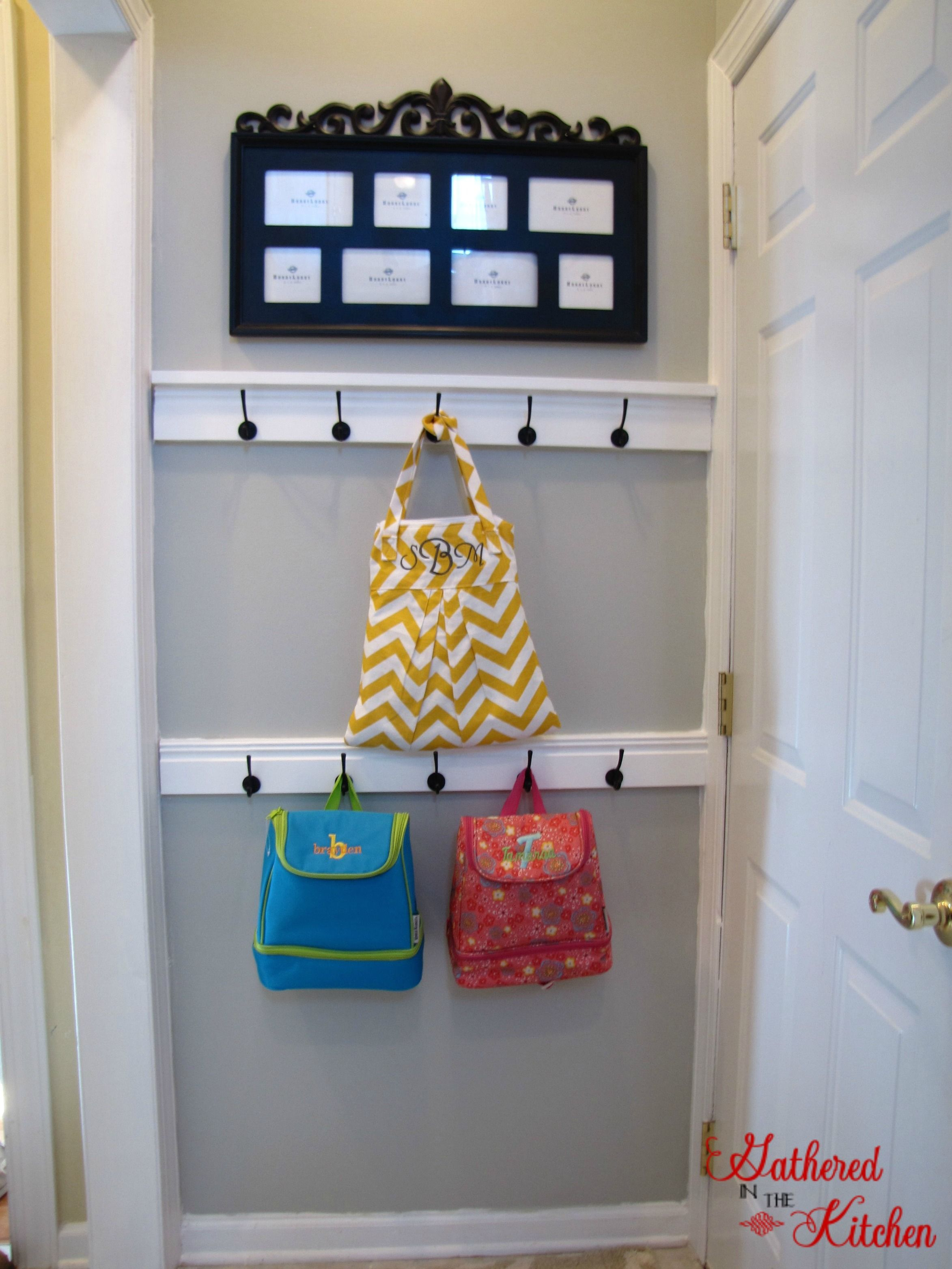 DIY Entry Door Coat Hook Tutorial