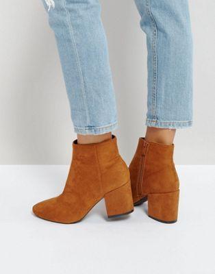 RAID Kola Block Heeled Ankle Boots  3a1661a9ab2