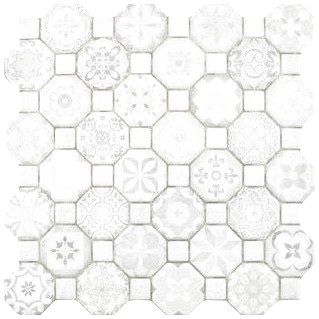 Shop For Somertile 12 25x12 25 Inch Tesseract White Ceramic Floor And Wall Tile Case Of 13 Get Free Delivery At Floor And Wall Tile Ceramic Floor Wall Tiles