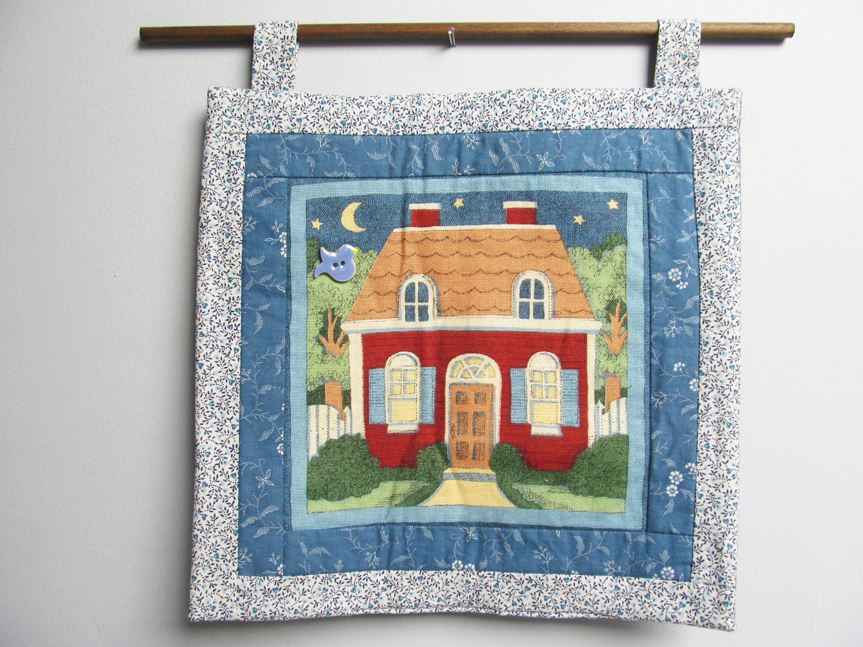 Vintage Quilt Wall hanging wall decoration quilt country rustic ...