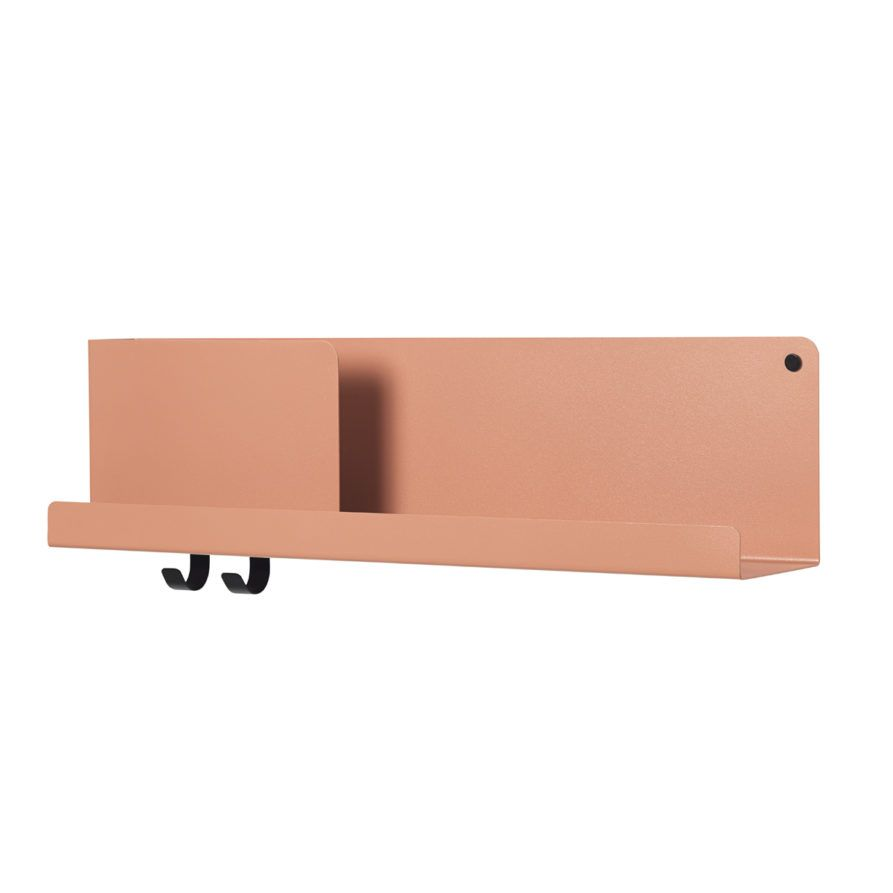 Etagere Universo Positivo Folded Shelves Medium Terracotta For The Home Shelves