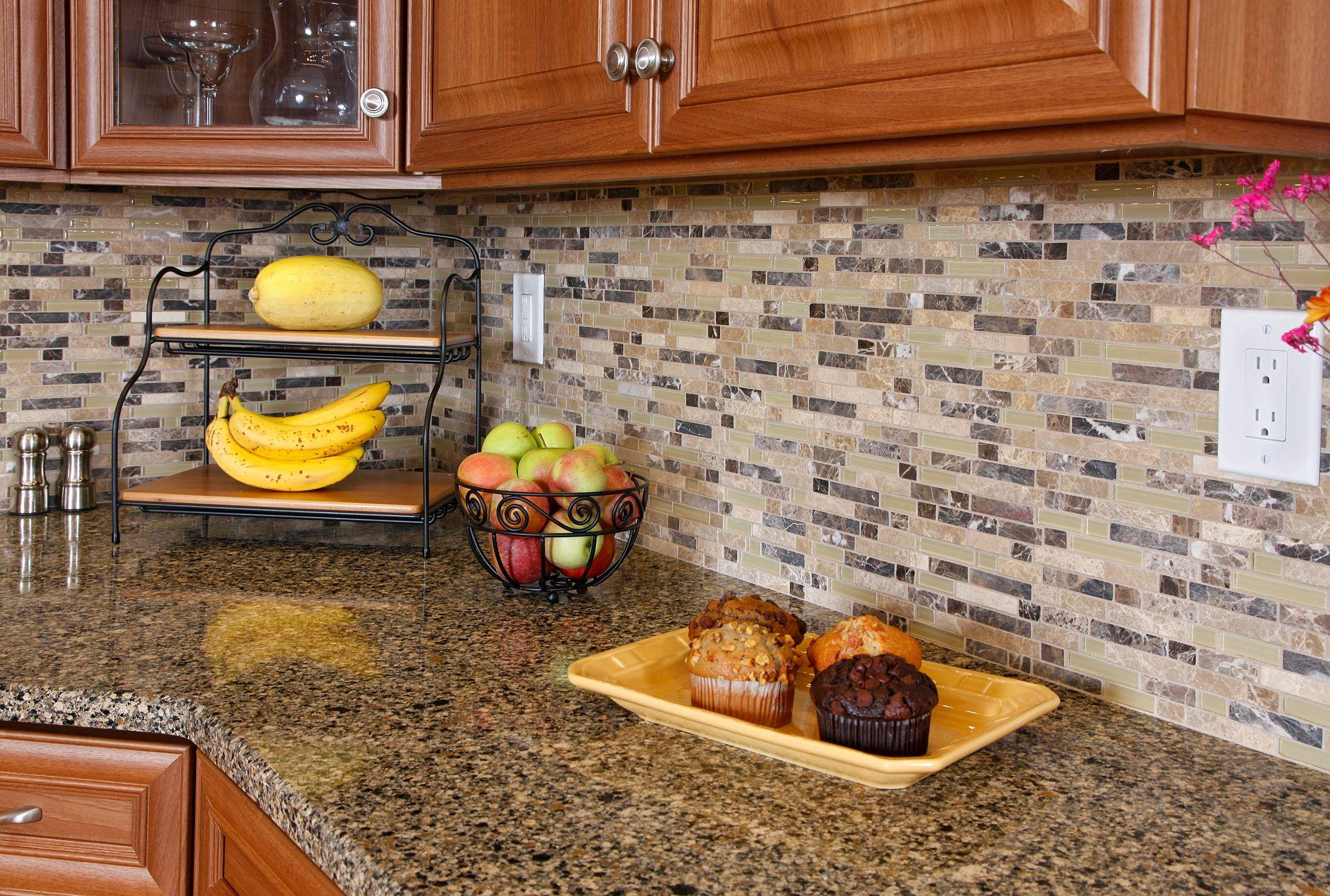 Cool backsplash tile ideas for granite countertops