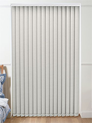 thermatex light grey vertical blind kitchen curtains. Black Bedroom Furniture Sets. Home Design Ideas