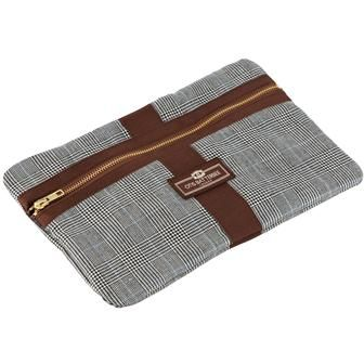 Otis Batterbee - Prince of Wales envelope wash bag (medium)