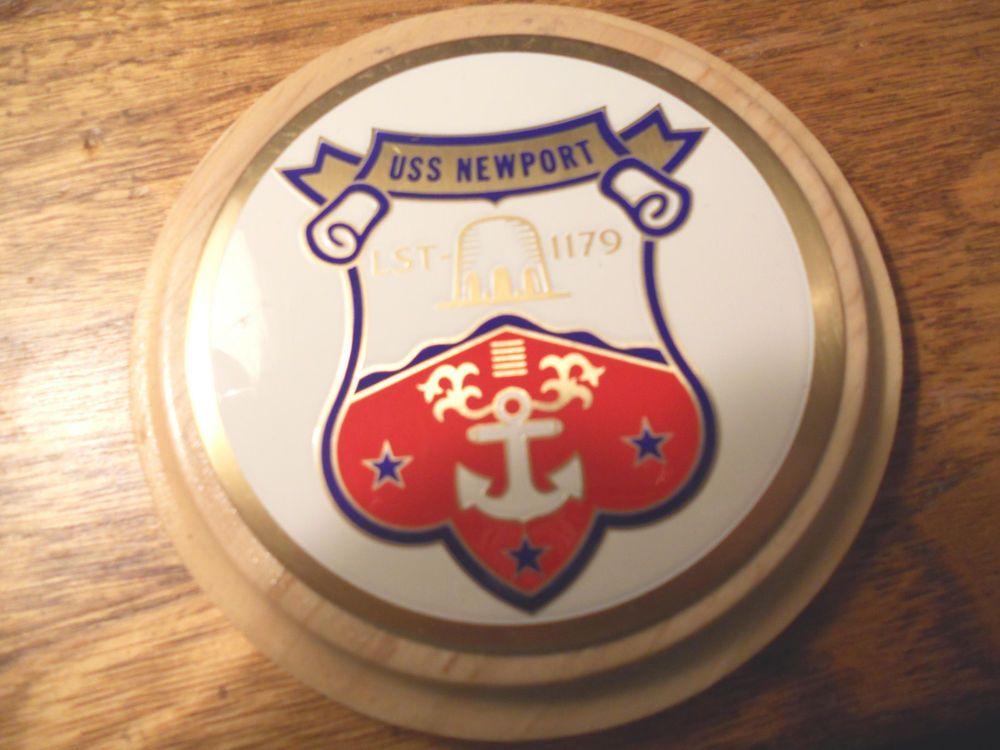 US NAVY LST-1179 Challenge Coin USS NEWPORT