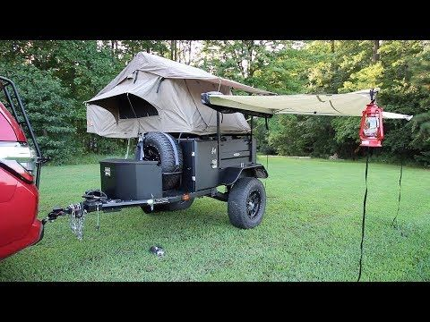 Smitty Built Roof Top Tent