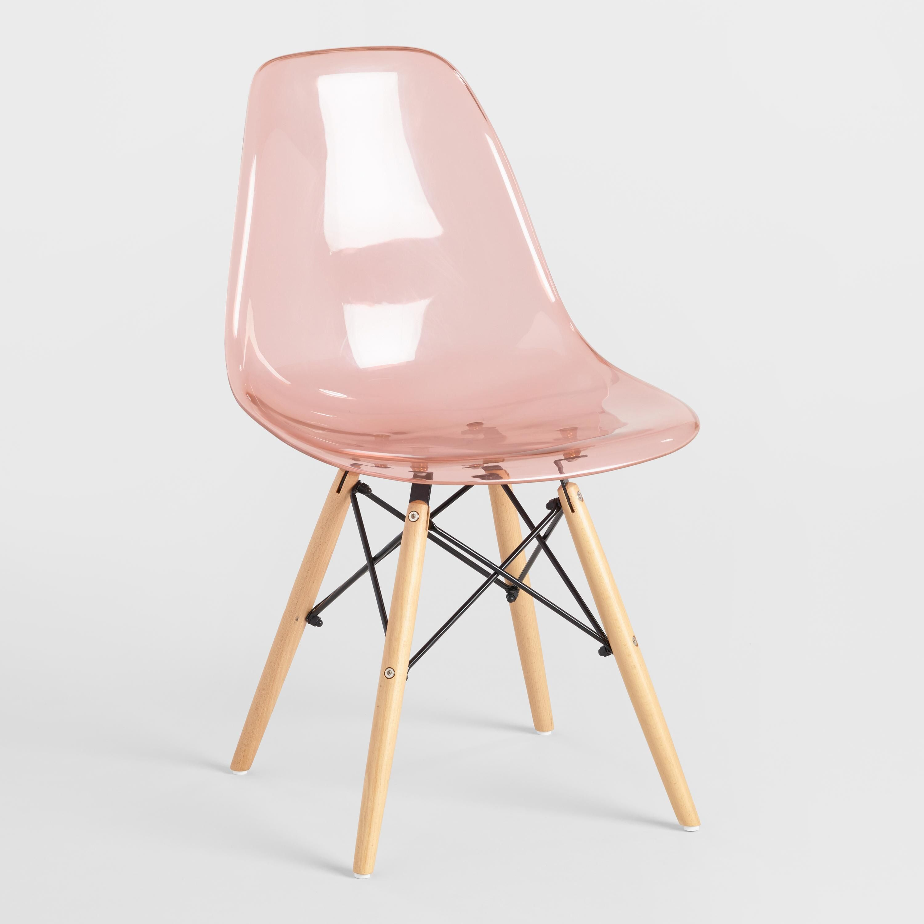 Blush Molded Evie Chairs Set Of 2