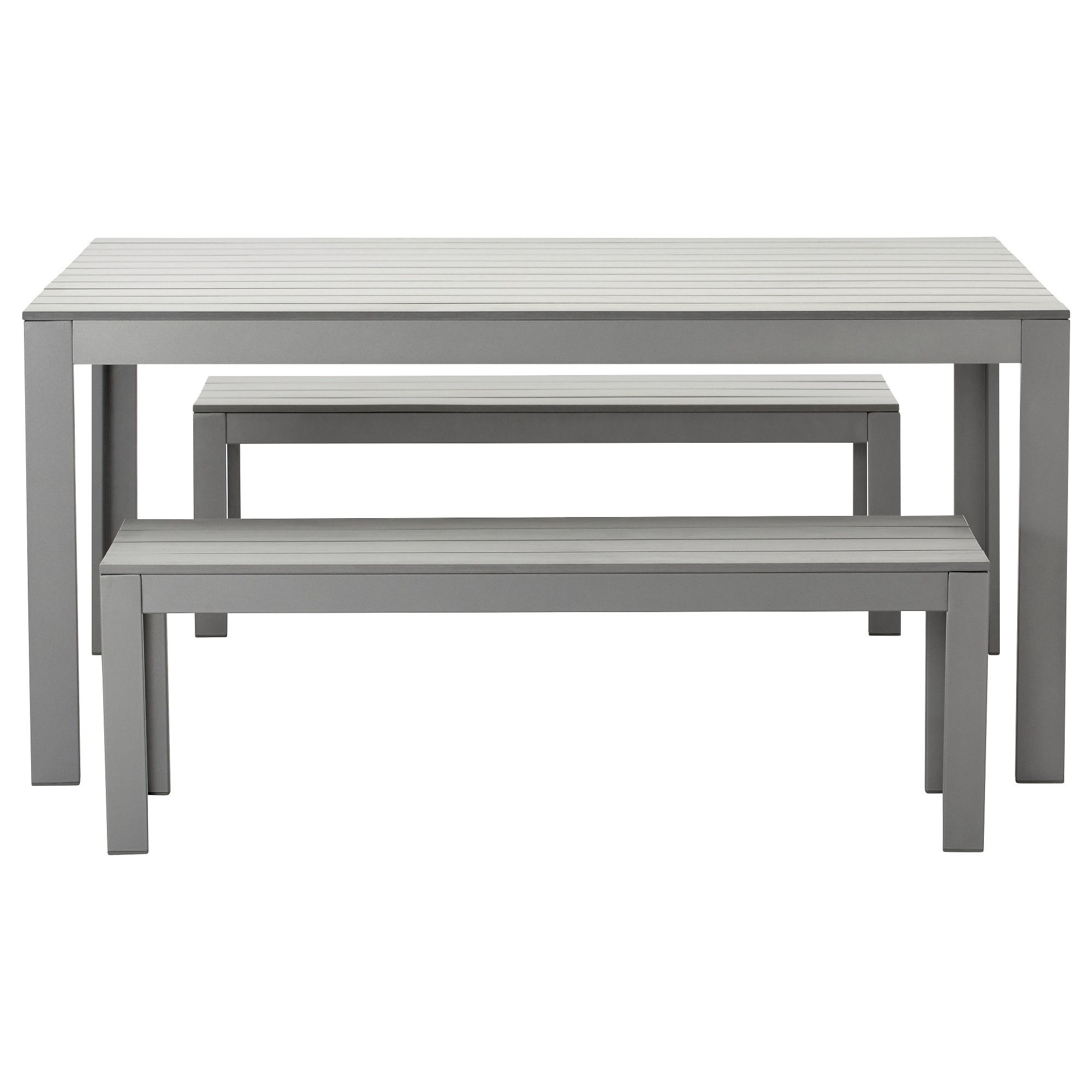 Stunning ikea table bench falster table 2 benches outdoor