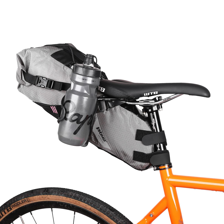 Woho Saddle Bag Stabilizer And Bottle Mount Bikepacking Bike