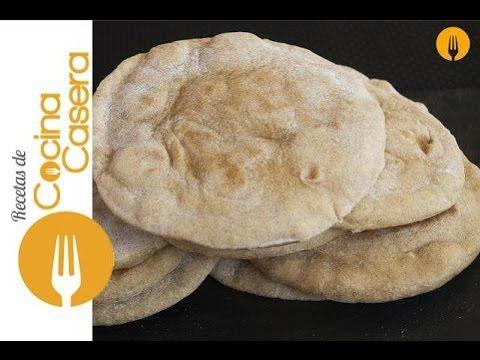 Pan Árabe | Recetas de Cocina Casera - Recetas fáciles y sencillas
