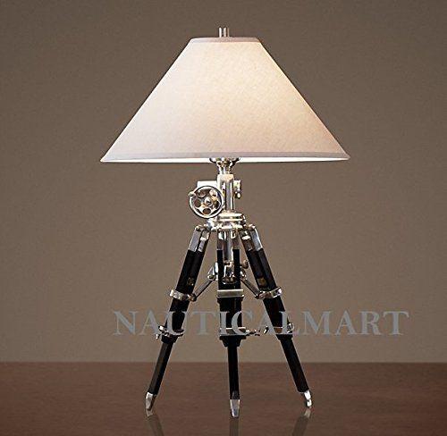Pin By Sonam Salar On Nauticalmart Royal Lamp Tripod Table Lamp Table Lamp Tripod Floor Lamps