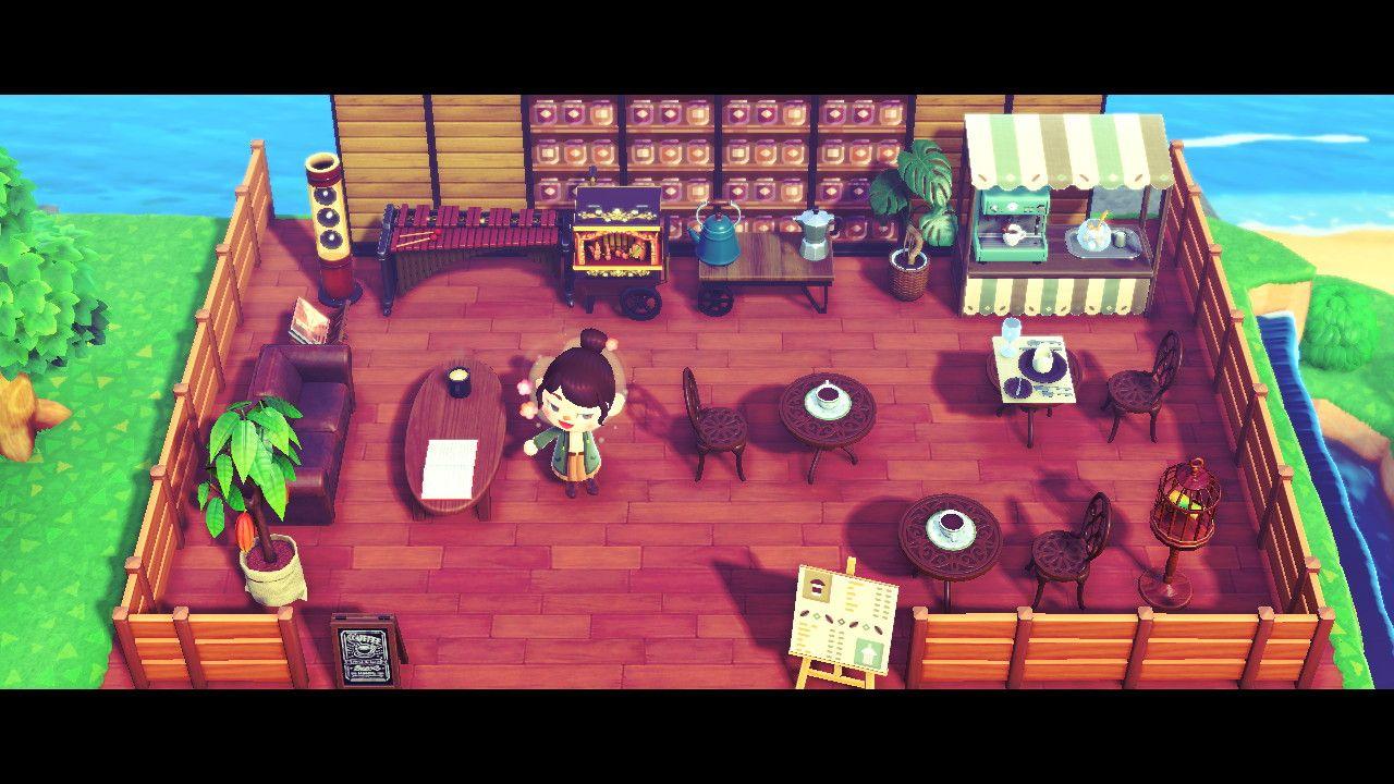 coffee shop ideas animal crossing