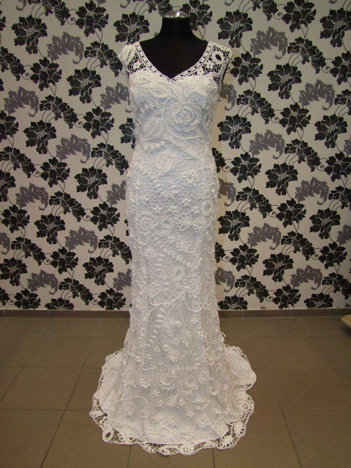 Pin By Robin Parks On Pretty Crochet Wedding Dresses Crochet Wedding Dress Pattern Crochet Dress