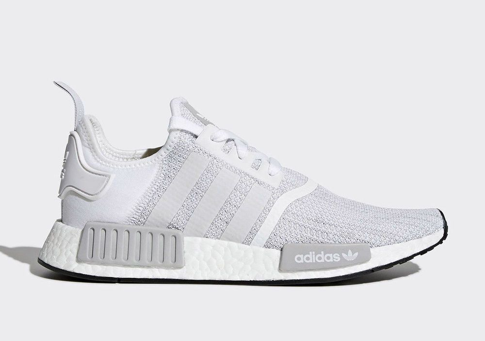 Adidas NMD R1 Mens Sneakers Adidas NMD R1 Shoes White Mens